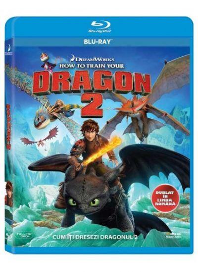 Cum sa iti dresezi Dragonul 2 / How To Train Your Dragon - BLU-RAY