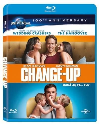 Daca as fi… tu? / The Change-Up - BLU-RAY