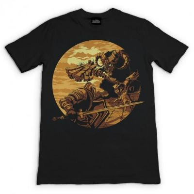 DARK SOULS MONSTER AXE TSHIRT XXL
