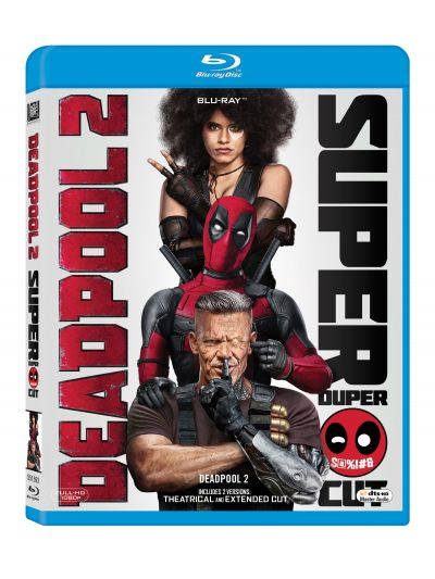 Deadpool 2: Super Duper Cut (2 discuri: Theatrical and Extended Cut) - BLU-RAY