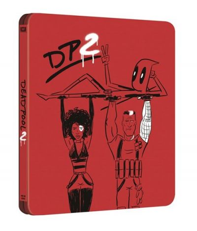 Deadpool 2: Super Duper Cut (2 discuri: Theatrical and Extended Cut) - BLU-RAY (Steelbook Editie Limitata)