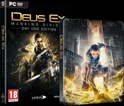 DEUS EX MANKIND DIVIDED STEELBOOK EDITION - PC