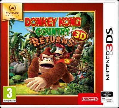 DONKEY KONG COUNTRY RETURNS SELECTS - 3DS