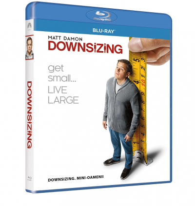 Downsizing: Mini-oamenii - BLU-RAY
