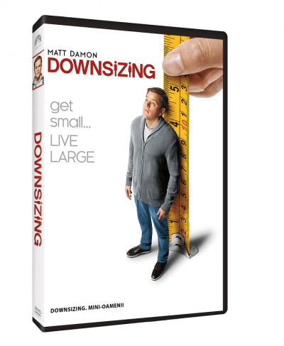 Downsizing: Mini-oamenii - DVD