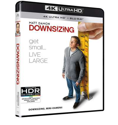 Downsizing: Mini-oamenii - UHD 2 discuri (4K Ultra HD + Blu-ray)