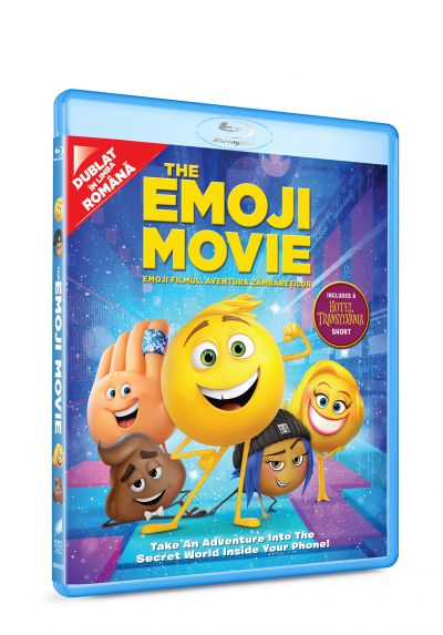 Emoji Filmul: Aventura zambaretilor / The Emoji Movie - BLU-RAY