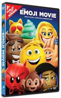 Emoji Filmul: Aventura zambaretilor / The Emoji Movie - DVD