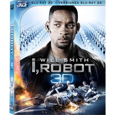Eu, Robotul / I, Robot - BLU-RAY 3D