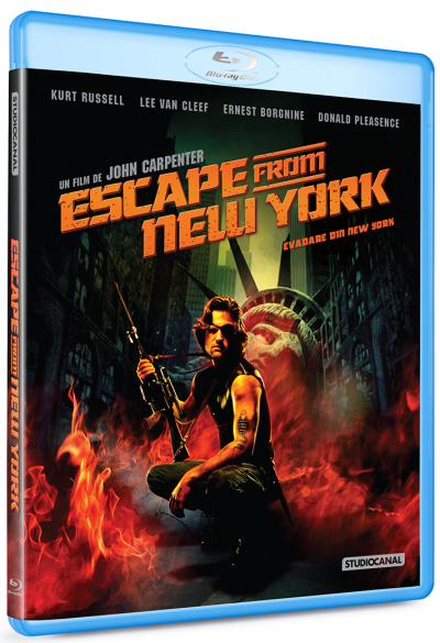 Evadare din New York / Escape From New York - BLU-RAY