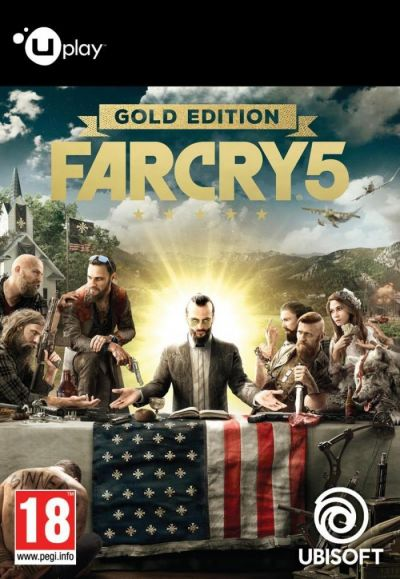 FAR CRY 5 GOLD EDITION - PC (UPLAY CODE)