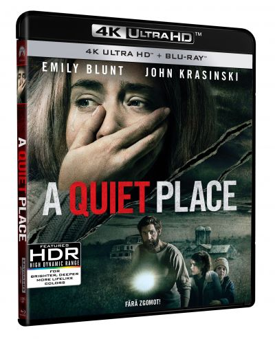 Fara zgomot! / A Quiet Place - UHD 2 discuri (4K Ultra HD + Blu-ray)