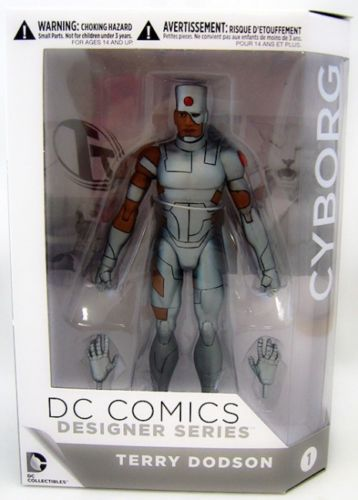 Figurina DC Comics Designer Series - Cyborg - Terry Dobson - Collectible Action Figure (15 cm)