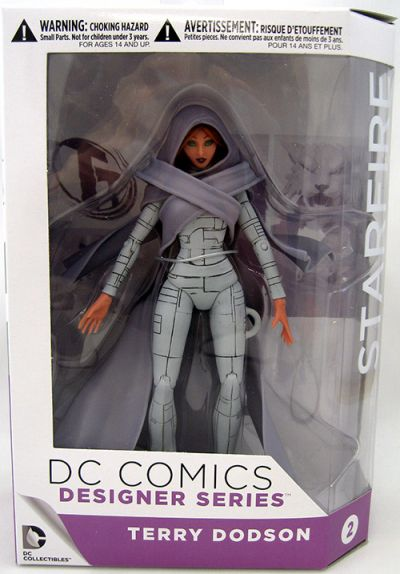 Figurina DC Comics Designer Series - Earth One - Starfire - Terry Dobson - Collectible Action Figure (15 cm)