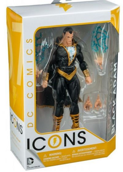 Figurina DC Comics Icons - Black Adam Forever Evil - Collectible Action Figure (15 cm)