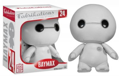 Figurina Funko Fabrikations (Soft Sculpture By Fanko) Baymax Action Figure