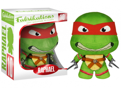Figurina Funko Fabrikations (Soft Sculpture By Fanko) - Teenage Mutant Ninja Turtles - Raphael - (10)