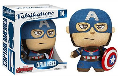 Figurina Funko Fabrikations (Soft Sculpture By Fanko) - Avengers: Age of Ultron - Captain America (14)