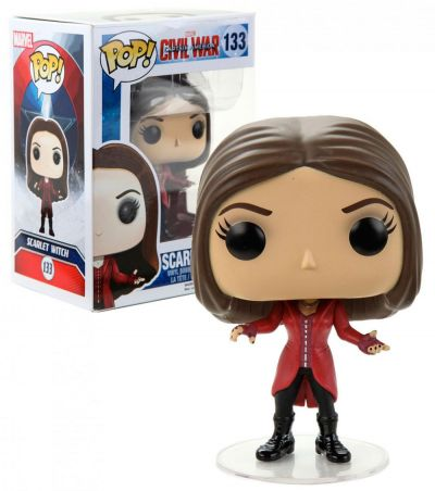 Figurina Funko Pop! - Captain America: Civil War - Scarlet Witch - Vinyl Collectible Action Figure (133)