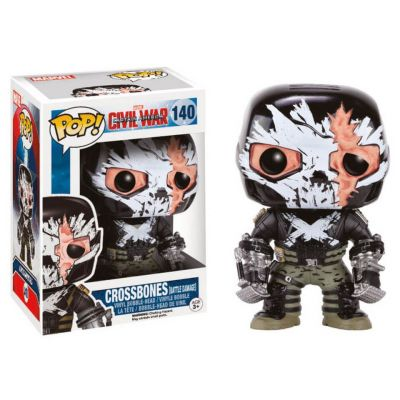 Figurina Funko Pop! - Captain America: Civil War - Crossbones (Battle Damage) - Vinyl Collectible Action Figure (140)