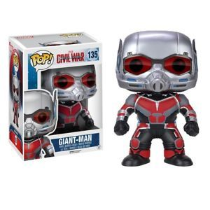 Figurina Funko Pop! - Captain America: Civil War - Giant-Man (15 cm) - Vinyl Collectible Action Figure (135)