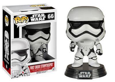 Figurina Funko Pop Star Wars: First Order Stormtrooper Vinyl Collectible Bobble-Head Action Figure
