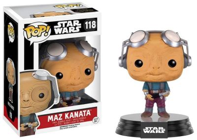 Figurina Funko Pop Star Wars: Maz Kanata Vinyl Collectible Bobble-Head Action Figure