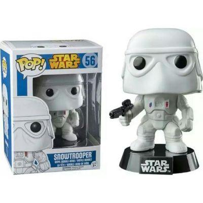 Figurina Funko Pop Star Wars: Snowtrooper Vinyl Collectible Bobble-Head Action Figure