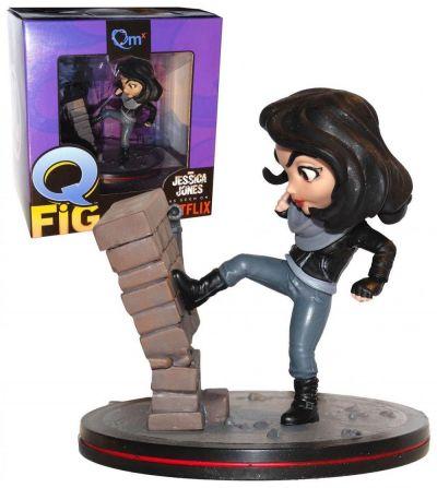Figurina Q-fig Jessica Jones (as seen on Netflix) - Collectible Action Figure (14 cm)