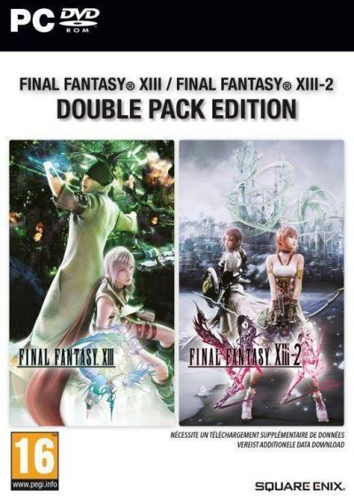 FINAL FANTASY XIII & FINAL FANTASY XIII-2 DOUBLE PACK - PC