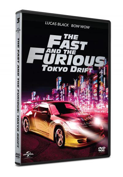 Furios si iute 3: Tokyo Drift / The Fast and the Furious: Tokyo Drift - DVD