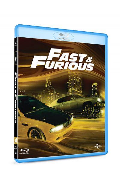 Furios si iute 4 / Fast & Furious - BLU-RAY