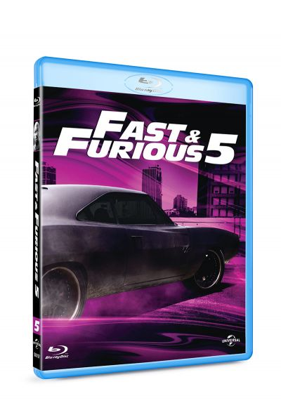 Furios si iute 5 / Fast & Furious 5 / Fast Five - BLU-RAY
