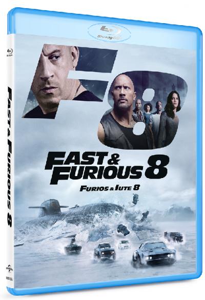 Furios si iute 8 / Fast & Furious 8 - BLU-RAY