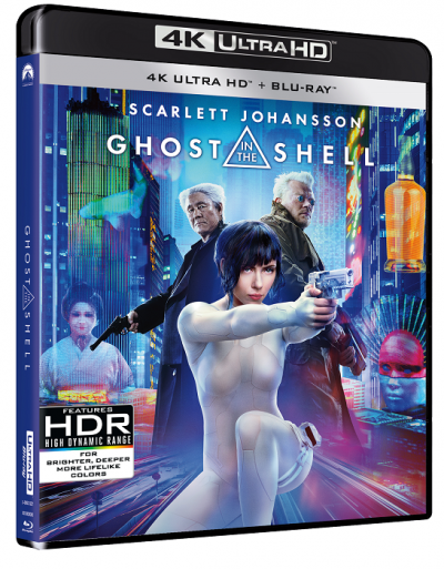 Ghost in the Shell - BD 2 discuri (4K Ultra HD + Blu-ray)