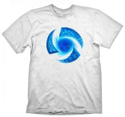 HEROES OF THE STORM SYMBOL WHITE TSHIRT M
