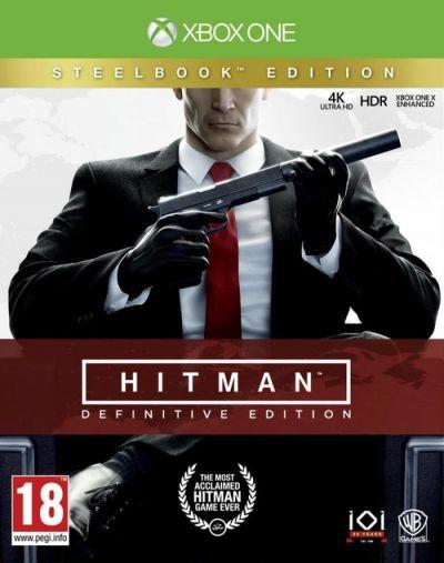 HITMAN DEFINITIVE STEELBOOK EDITION - XBOX ONE