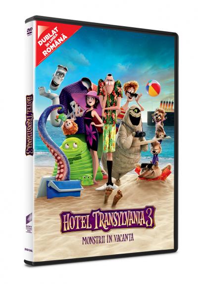 Hotel Transilvania 3: Monstrii in vacanta / Hotel Transylvania 3: A Monster Vacation - DVD