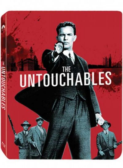 Incoruptibilii / The Untouchables - BLU-RAY (Steelbook)