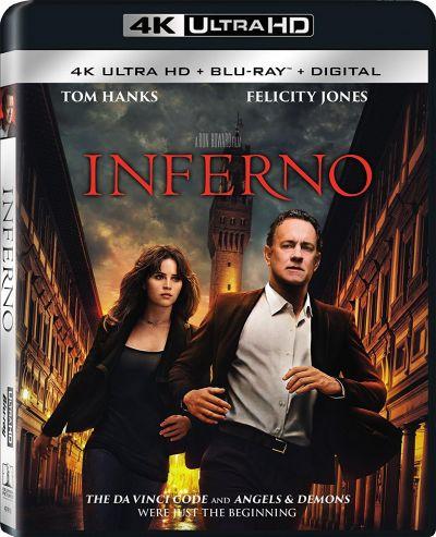 Inferno - BD 2 discuri (4K Ultra HD + Blu-ray)