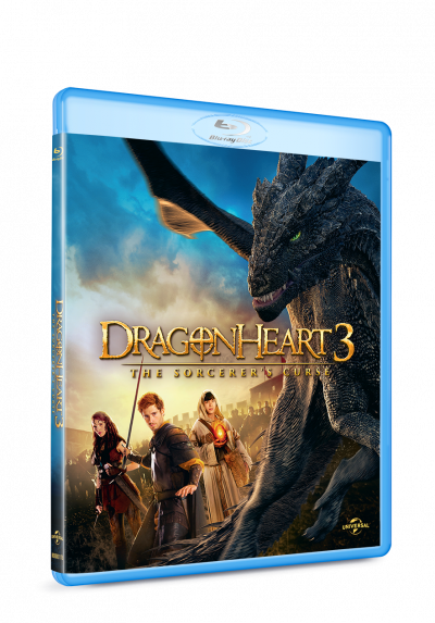 Inima de Dragon 3 / Dragon Heart 3: The Sorcerer's Curse - BLU-RAY