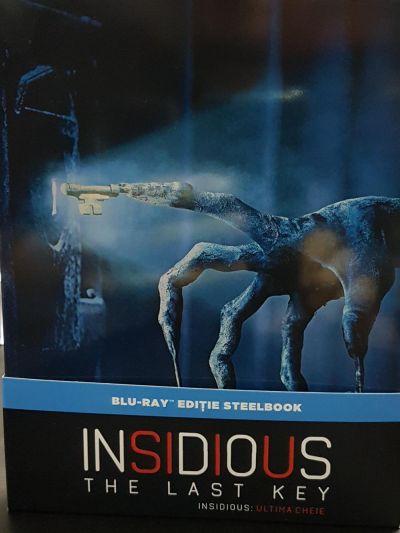 Insidious: Ultima Cheie (Insidious: Capitolul 4) / Insidious: The Last Key (Steelbook) - BLU-RAY