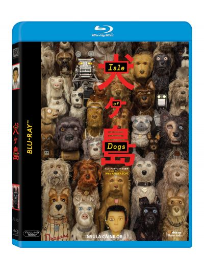 Insula Cainilor / Isle of Dogs - BLU-RAY