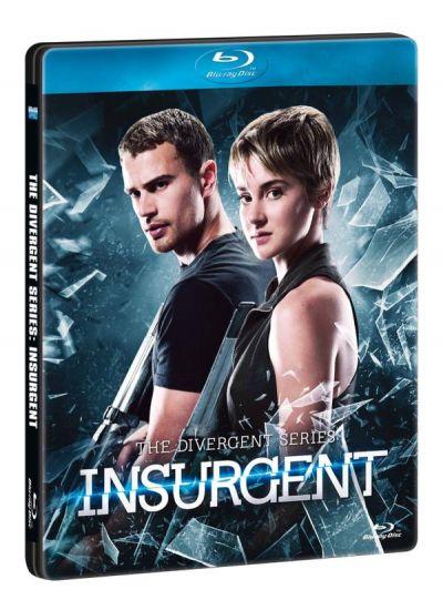 Insurgent - Editie Limitata Steelbook Blu-ray (3D+2D) + DVD