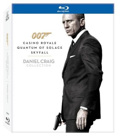 James Bond: Daniel Craig Collection (Casino Royale, Quantum of Solace, Skyfall) (3 filme) - BLU-RAY