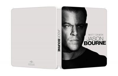 Jason Bourne - 2 discuri - BLU-RAY + DVD (Steelbook editie limitata)