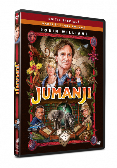 Jumanji (Editie speciala) - DVD