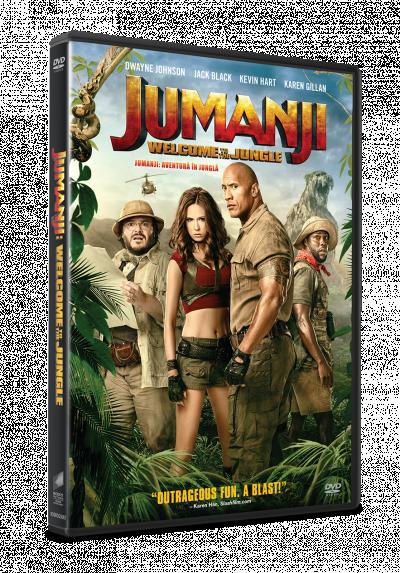 Jumanji: Aventura in jungla / Jumanji: Welcome to the Jungle - DVD