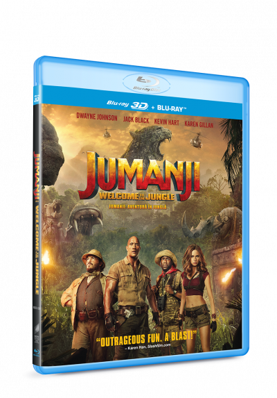 Jumanji: Aventura in jungla / Jumanji: Welcome to the Jungle - BLU-RAY 3D + 2D