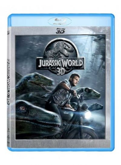 Jurassic World (Jurassic Park 4) - BLU-RAY 3D